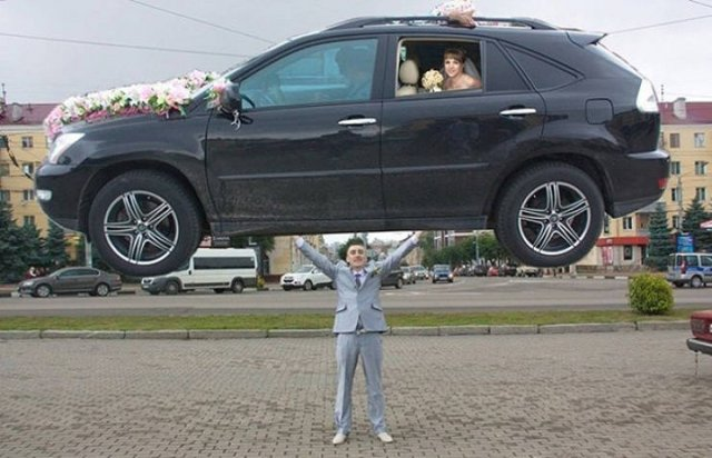 Russian Weddings Are Different..., part 2