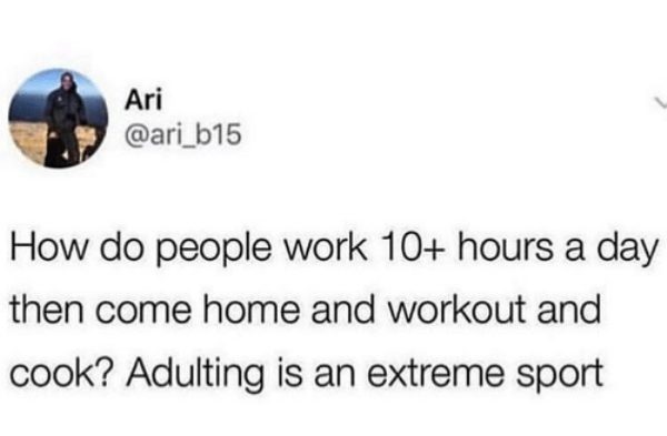 Being Adult Kind Of Sucks