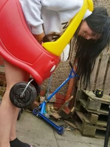 Scots Woman Got Trapped Inside A Kid's Toy Car