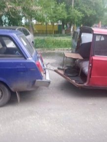 One And A Half Car From Russia