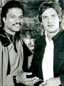 Harrison Ford And Billy Dee Williams 30 Years Later