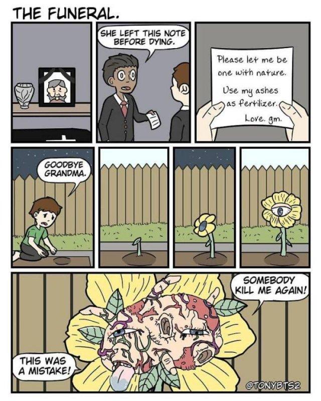 Funny Comics By Tonnybts2