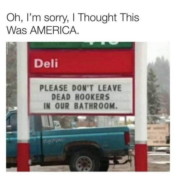 Welcome To America, part 2