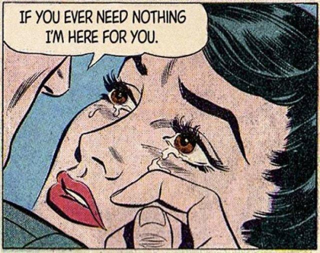 Modern Love Meets Vintage Romantic Comics