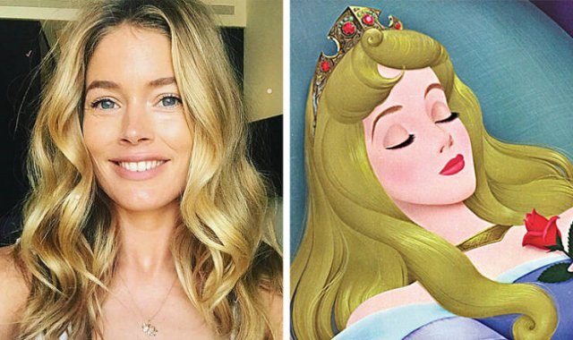 Real Life Doppelgangers Of Cartoon Characters, part 2
