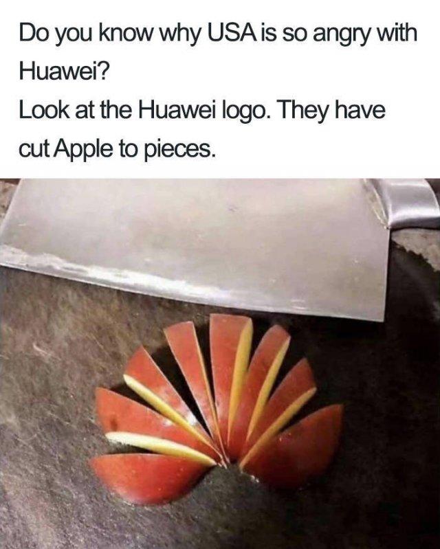 Huawei Ban Memes
