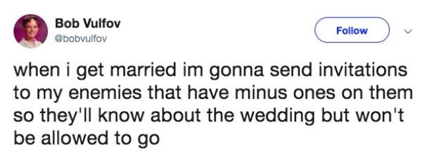 Wedding Tweets