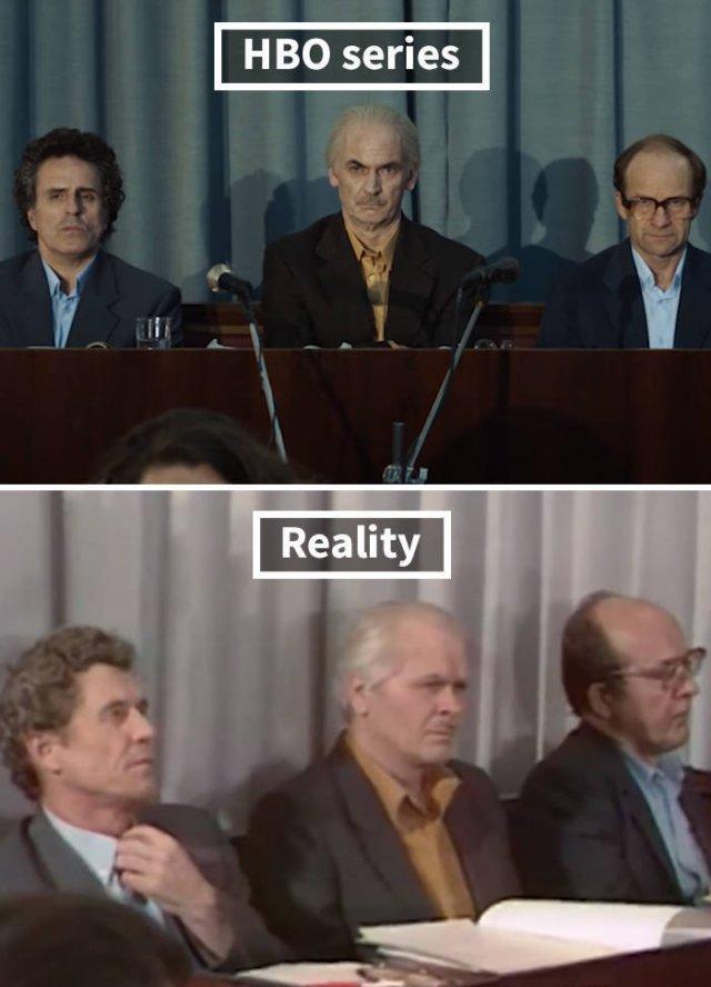 "HBO ""Chernobyl"" Vs Real Photos"
