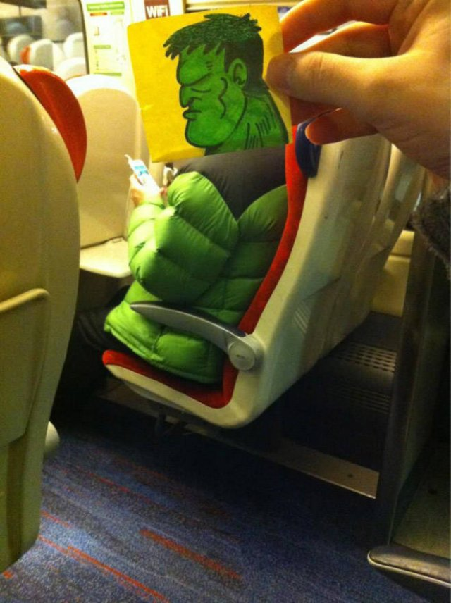 Fun On The Train