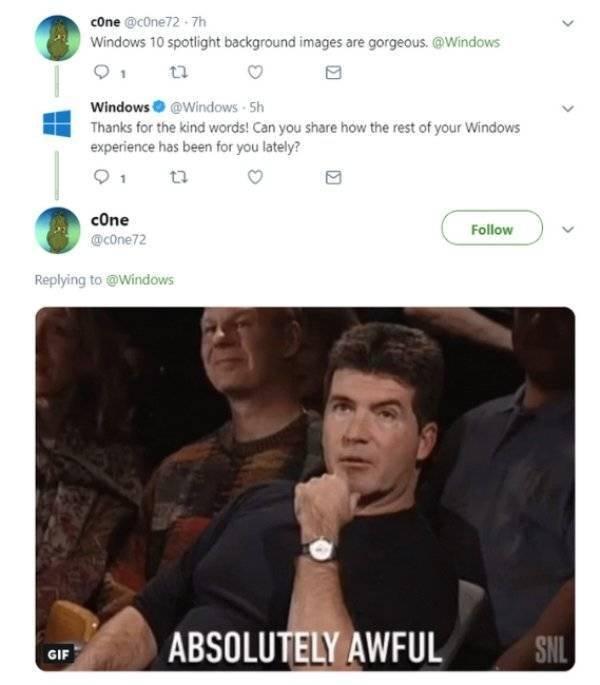 Funny Internet Responses, part 2
