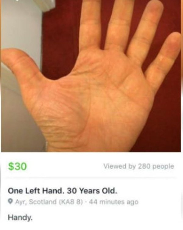 Facebook Marketplace Is A Strange Place