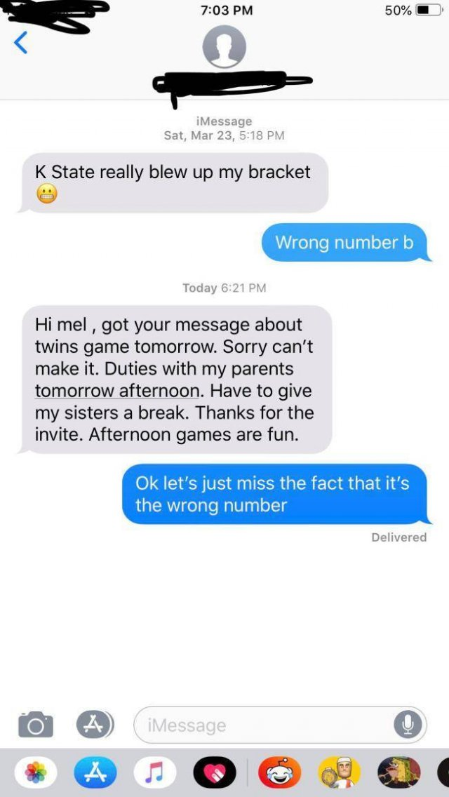 Wrong Number Texts Are Essentially Just Wrong