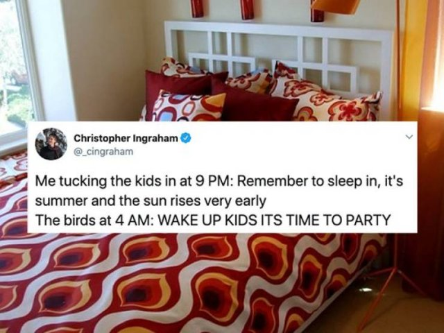 Summer Break Is A Difficult Time For Parents