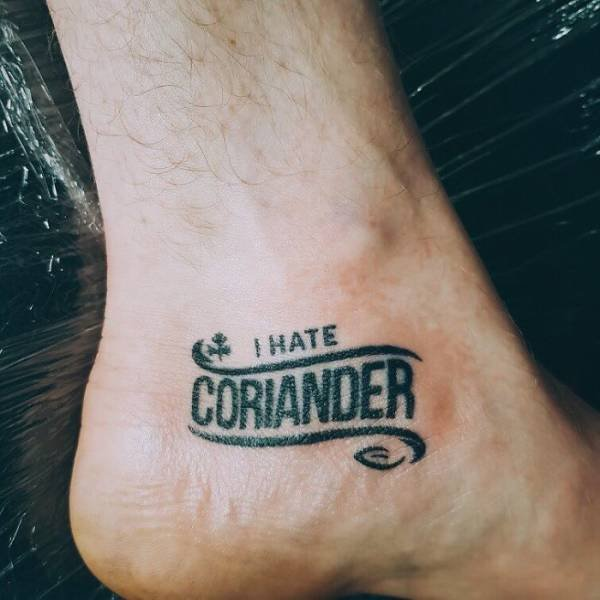 People Hate Coriander
