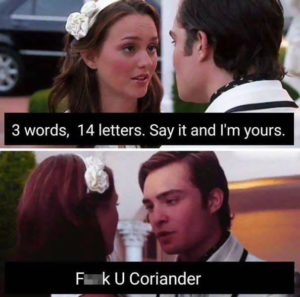 People Hate Coriander