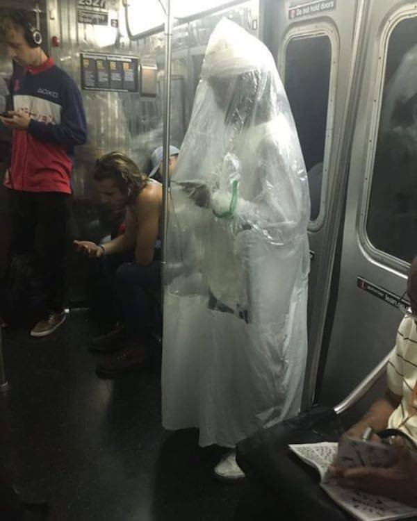 Strange People On The Subway