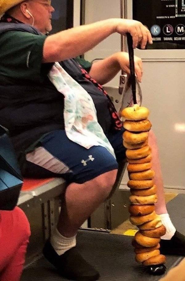 Strange People On The Subway
