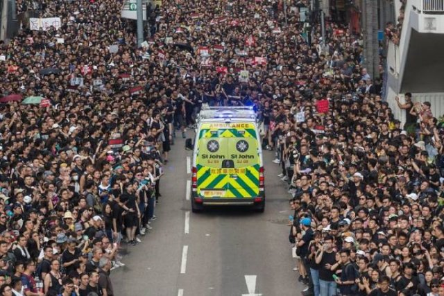Recent Hong Kong Protests Don't Even Look Like Protests