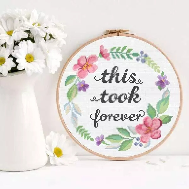 Cross Stitching For Grown Ups