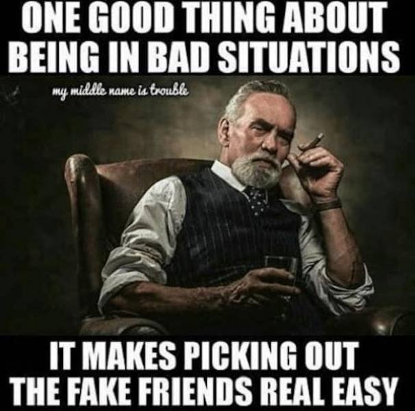 Memes About Fake Friends