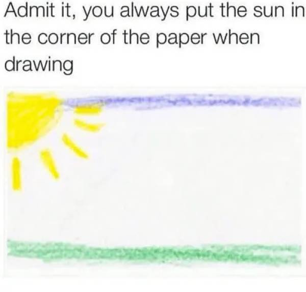 Things We Did In Elementary School