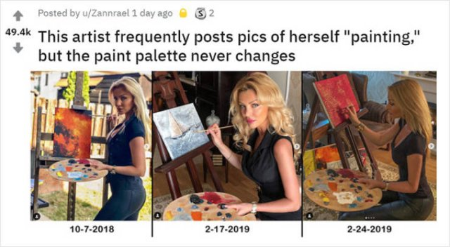 Why Does Her Palette Never Change?