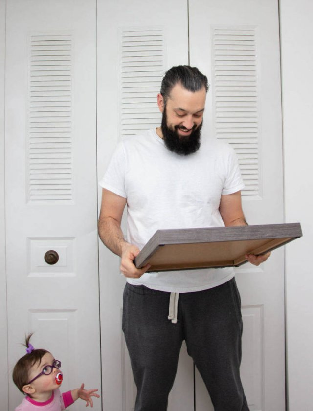 Husband Reacts To His Wife's Third Pregnancy