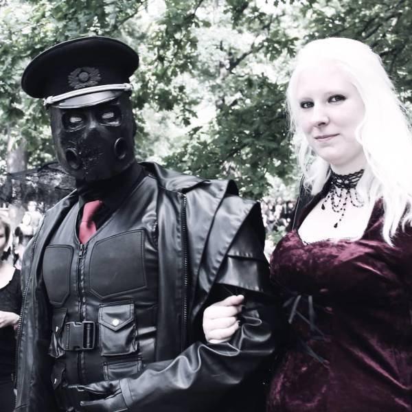 Photos From A Goth Festival