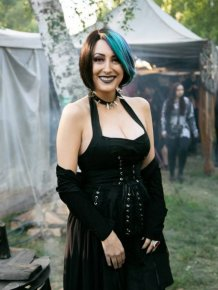 Photos From A Goth Festival