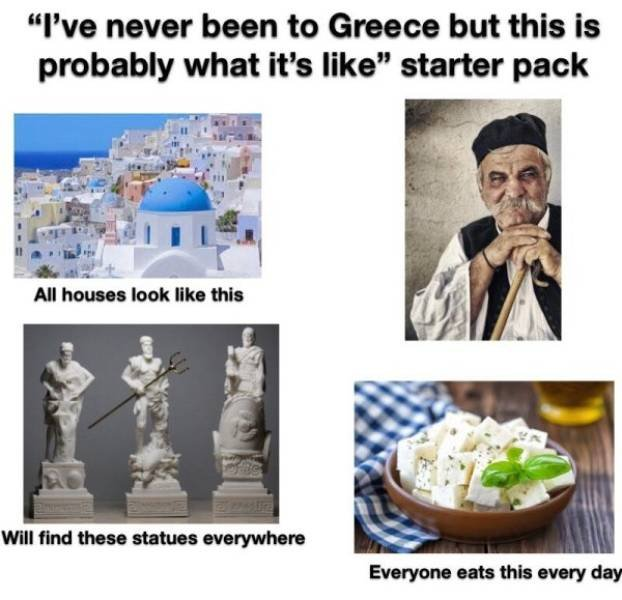 There Is A Starter Pack For Anything