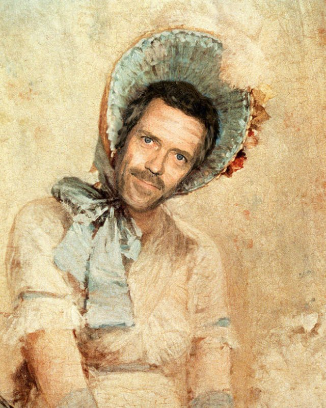 Modern Celebs In Classic Paintings