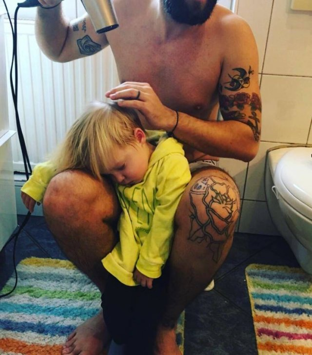 These Dads Are Heroes