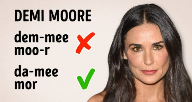 How To Pronounce Celebrity Names