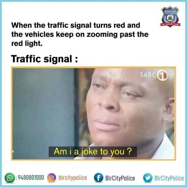 Funny Memes By Indian Police Department