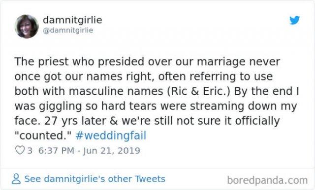 Wedding Fails, part 5