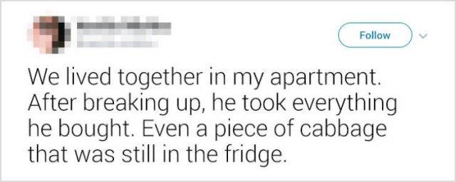 Weird Ex-Boyfriends