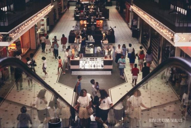 American Malls In The 80's