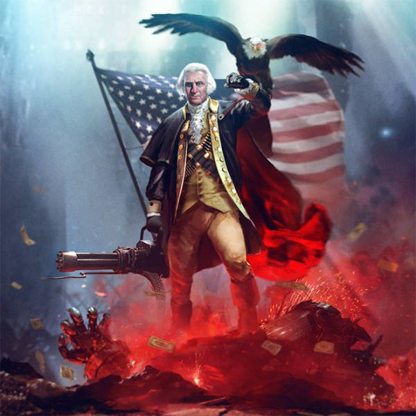 Artist Turns US Presidents Into Action Heroes