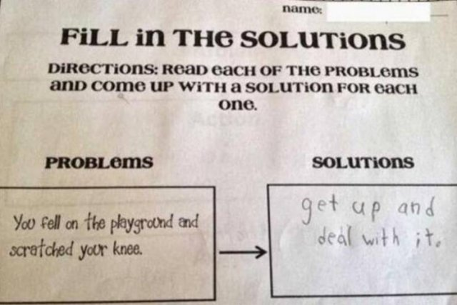 Awesome Exam Answers