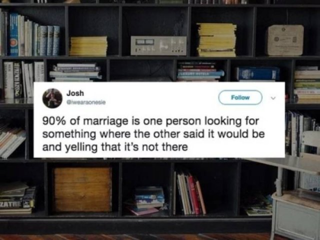 Tweets About Marriage, part 4