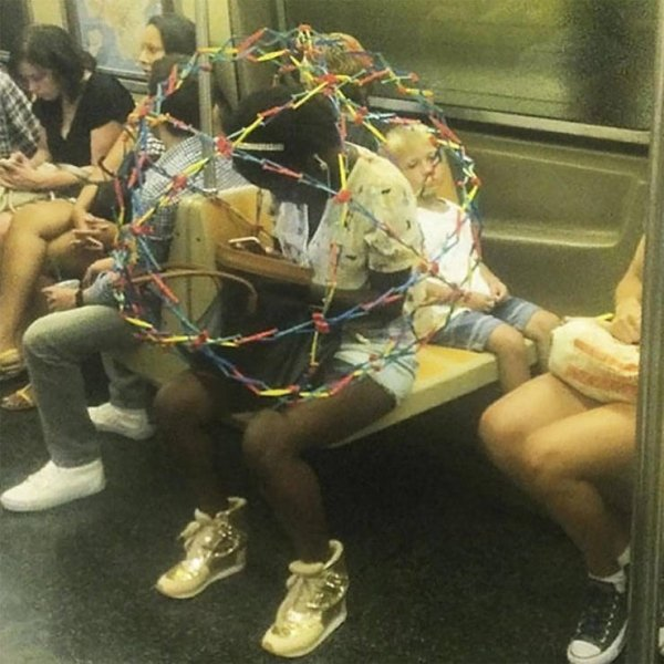 Strange People In The Subway