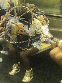 Strange People In The Subway