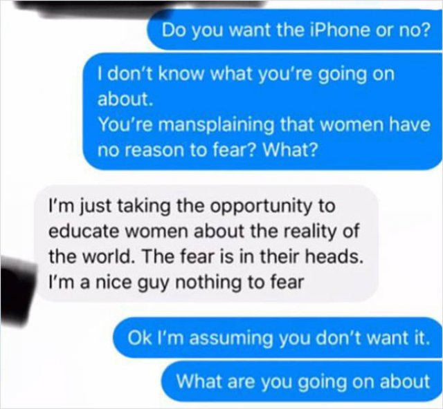 A Guy Gets Mad Because Woman Didn't Give Him Her Home Address
