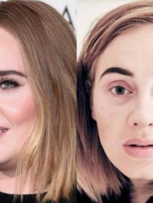 Singers Without Makeup