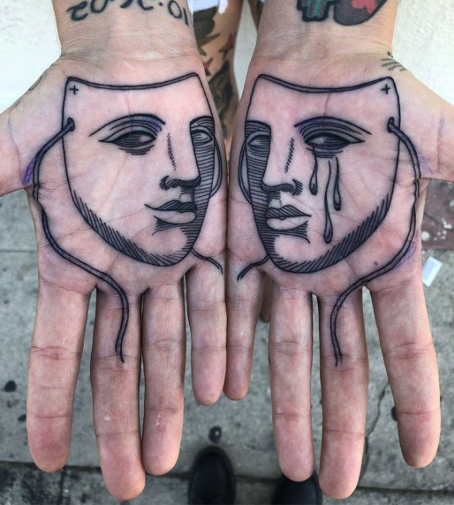 Tattoos On Palms