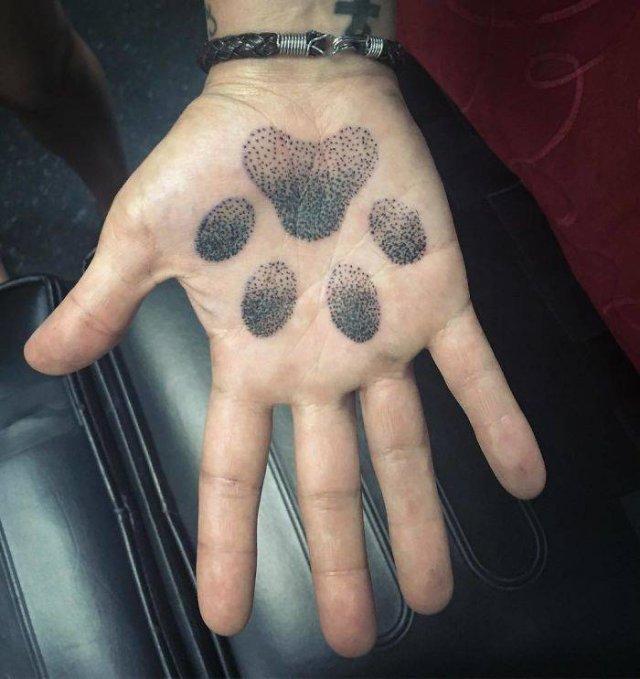 Tattoos On Palms