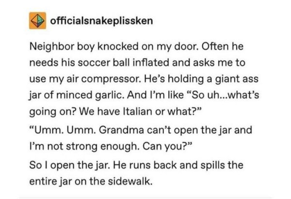 Kids Are Kids, part 2