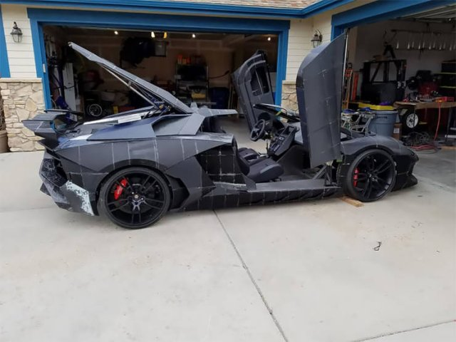 Lamborghini Aventador Made On A 3D-Printer