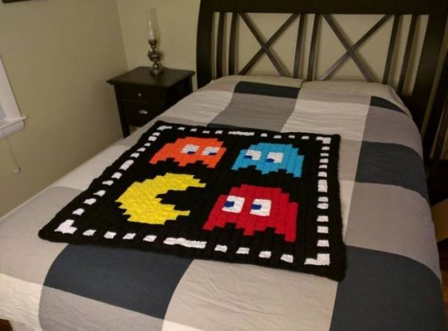 Retro Game Blankets
