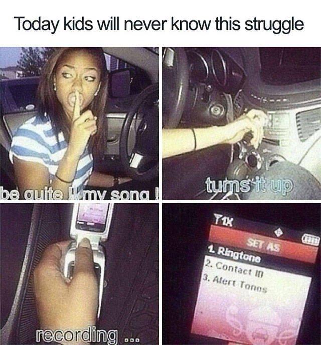 Nostalgia Here We Go